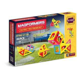 Magformers My First Tiny Friends Multicolor Plastic 20-piece Set