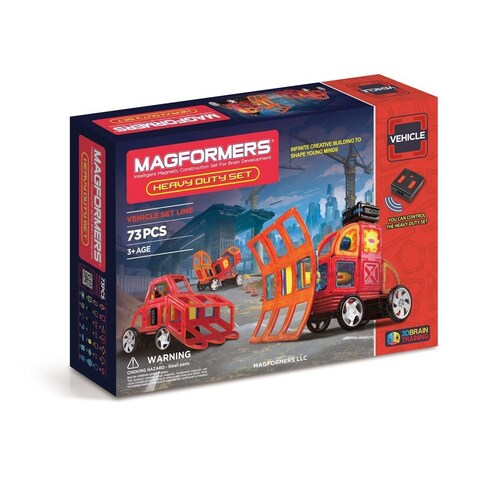Magformers Heavy Duty Multicolor Plastic 73-piece Set