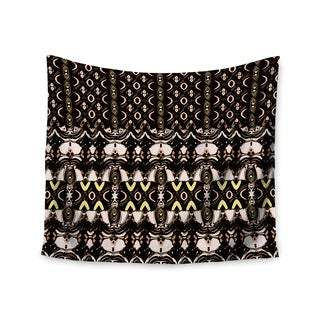 KESS InHouse Dawid Roc 'The Palace Walls' Brown Black 51x60-inch Tapestry