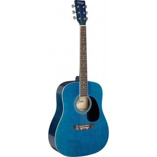 Stagg SA20D Blue Dreadnought Acoustic Guitar