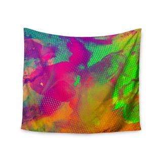 KESS InHouse Danny Ivan 'Austra' Pink Green 51x60-inch Tapestry