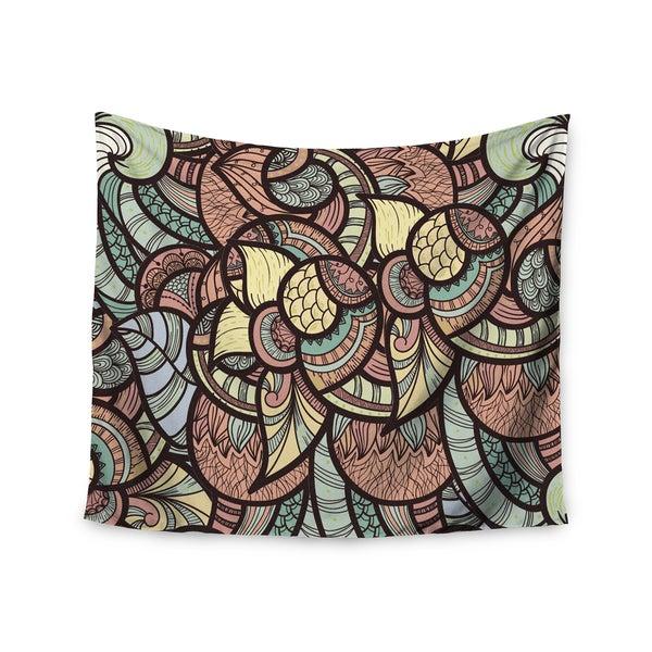 KESS InHouse Danny Ivan 'Wild Run' 51x60-inch Tapestry