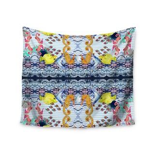 KESS InHouse DLKG Design 'Marine Life' Blue 51x60-inch Tapestry
