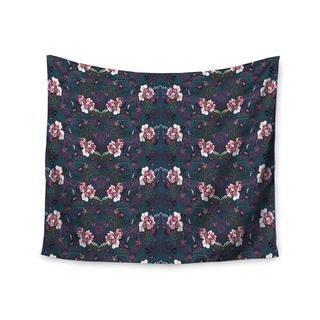 KESS InHouse DLKG Design 'Cool Stitch' Purple Navy 51x60-inch Tapestry