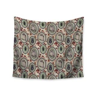 KESS InHouse DLKG Design 'Camafeu' Gray Beetles 51x60-inch Tapestry