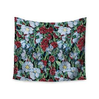 KESS InHouse DLKG Design 'Giardino' Garden Flowers 51x60-inch Tapestry