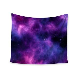 KESS InHouse Chelsea Victoria 'Infinity ' Purple Fantasy 51x60-inch Tapestry