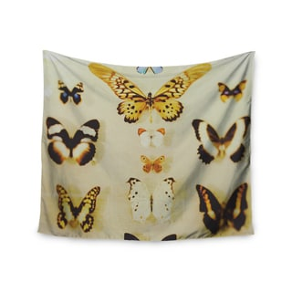 KESS InHouse Chelsea Victoria 'The Butterfly Collection' Photography Blue 51x60-inch Tapestry
