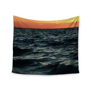 KESS InHouse Chelsea Victoria 'Laguna' Orange Nature 51x60-inch Tapestry