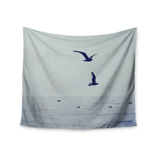 KESS InHouse Chelsea Victoria 'Two If By Sea' Nautical Photography 51x60-inch Tapestry