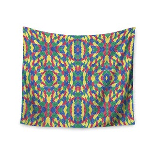 KESS InHouse Empire Ruhl 'Energy Abstract' Multicolor Pattern 51x60-inch Tapestry