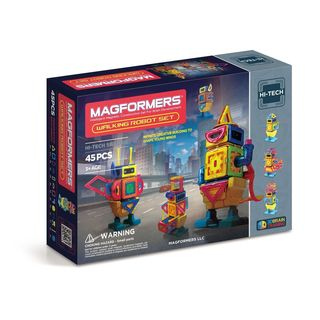 Magformers Walking Robot 45-piece Set