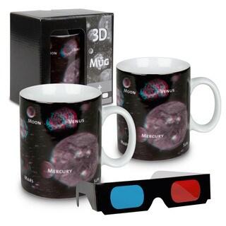 Konitz Waechtersbach Planets 3D Porcelain Mugs (Set of 2)