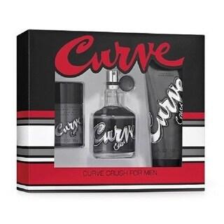 Liz Claiborne Men's Curve Crush 3-piece Gift Set