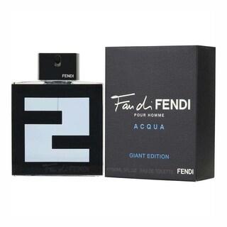 Fendi Fan di Fendi Acqua Pour Homme 5-ounce Eau de Toilette Spray Giant Edition