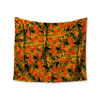 KESS InHouse Bruce Stanfield 'Golden Red' Gold Red 51x60-inch Tapestry