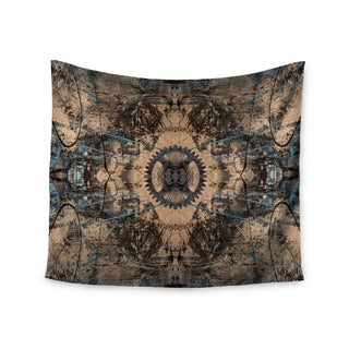 KESS InHouse Bruce Stanfield 'Zion 1178' Brown Blue 51x60-inch Tapestry