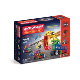 Magformers 79-piece Dynamic Wheel Set