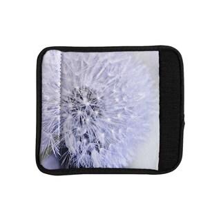KESS InHouse Debbra Obertanec 'Lavender Wish' Purple Flower Luggage Handle Wrap