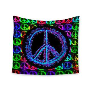 "Kess InHouse Anne LaBrie ""Heavenly Peace"" Blue Digital Wall Tapestry 51'' x 60''"