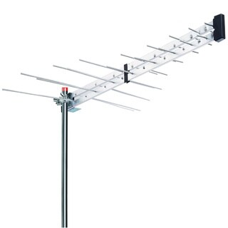 BoostWaves Yagi Optimized HDTV Digital Outdoor Directional Aerial VHF/UHF/FM Antenna with 2-year Warranty