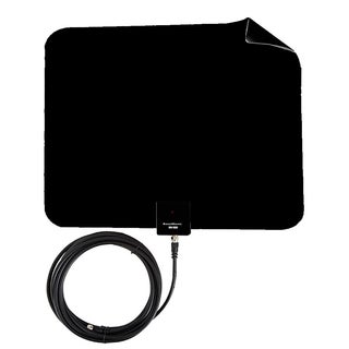 Boostwaves Razor 25 HDTV Flat Leaf Indoor Antenna with RG6 Cable