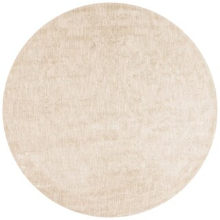 Lucca Floral Ivory Rug - 7'10 x 7'10 Round