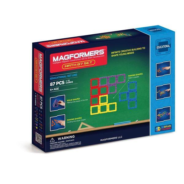 Magformers Math Plastic 87-piece Set