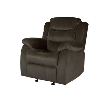 LYKE Home Carter Polyester Glider Chair