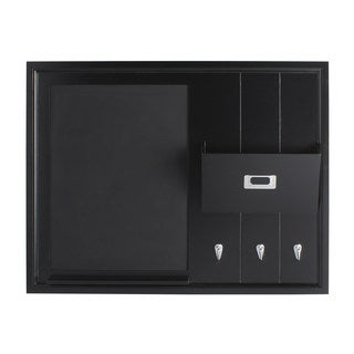 DesignOvation Dagny Wood Home Organizer with Chalkboard, Mail Holder, and Hooks|https://ak1.ostkcdn.com/images/products/12108020/P18969797.jpg?_ostk_perf_=percv&impolicy=medium