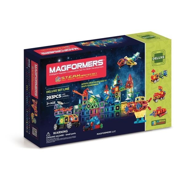 Magformers STEAM Master Plastic Multicolor 293-piece Set