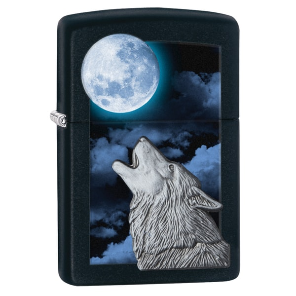 Zippo Howl At Moon Lighter
