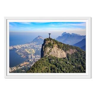 F11Photo 'Christ The Redeemer And Rio De Janeiro 'Framed Paper