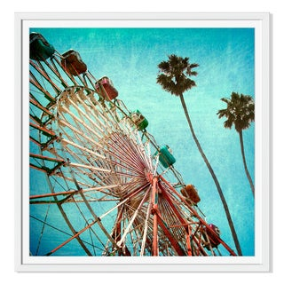 Jdoms 'Vintage Ferris Wheel ' Canvas Gallery Wrap