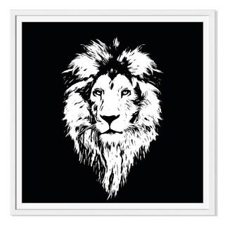 Baranov 555 'Beautiful Lion' Canvas Gallery Wrap