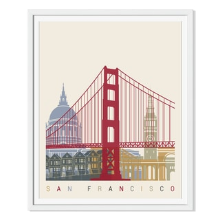 Paulrommer 'San Francisco Skyline' Canvas Gallery Wrap
