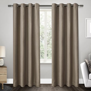 ATI Home Gates Room Darkening Thermal Grommet Top Curtain 84 -108-inch Panel Pair