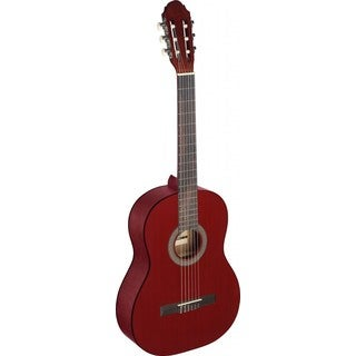 Stagg C440 M RED Red Linden Wood Classical Guitar