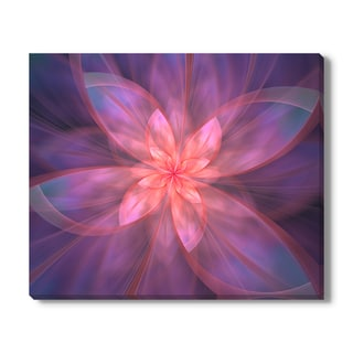 Stocklady 'Fractal Flowers Ii' Canvas Gallery Wrap