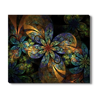 Stocklady 'Fractal Flowers I' Canvas Gallery Wrap
