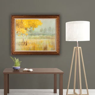 Danhui Nai Yellow Landscape 28-inch x 34-inch Framed Art