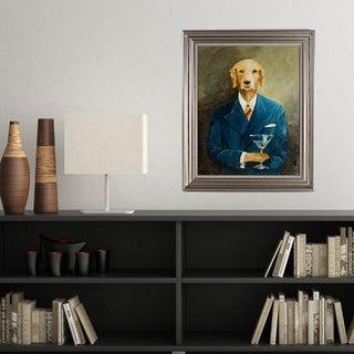 Avery Tillmon 'John Steinbark' Framed Canvas Art
