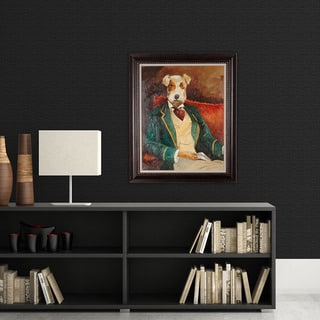 NA Avery Tillman 'Edgar Allen Paw' Framed Art