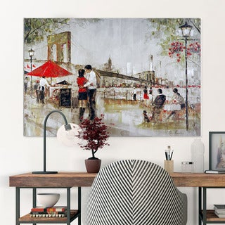 NA Ruane Manning 'New York Romance' Canvas Art