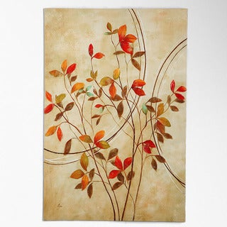 NA Nan F 'Autumn's Delight I' Canvas Art