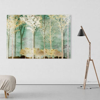 Na Conrad Knutsen 'Into the Woods' Canvas Art