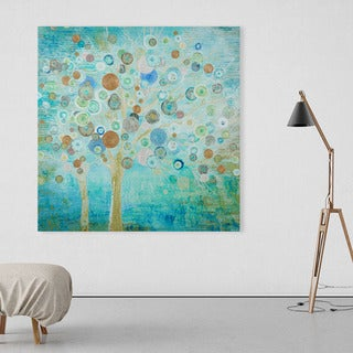 NA 'Blooming Spring' Hand-painted Art