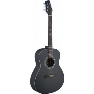 Stagg SA30A-BK LH Auditorium Black Left-handed Acoustic Guitar