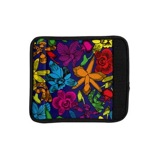 KESS InHouse Yenty Jap 'Lovely Orchids' Multicolor Floral Luggage Handle Wrap