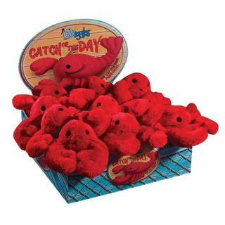 Grriggles Catch of the Day Lobster Dog Toys (Case of 12)